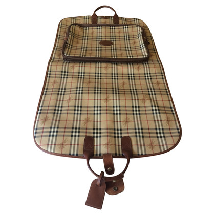 Burberry Garment bag with nova check pattern