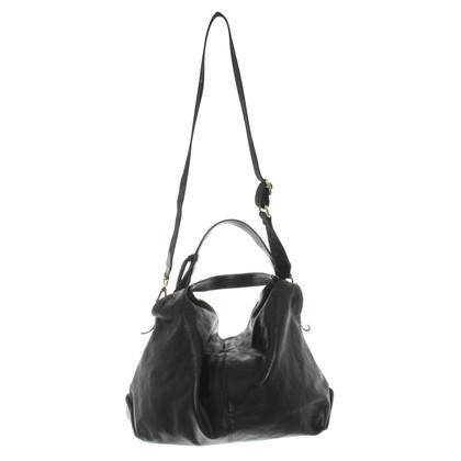 Furla sac à main en cuir noir