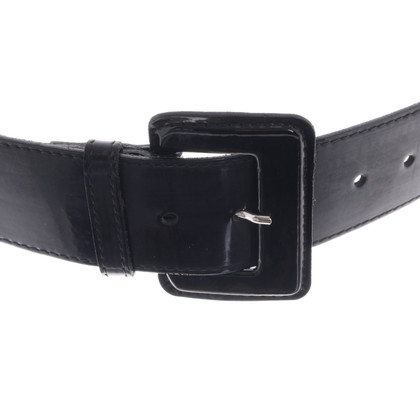Cinque Leather waist belt