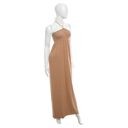 Patrizia Pepe Maxi-Kleid in Nude
