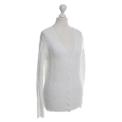Other Designer Kathleen Madden - knit jacket in white