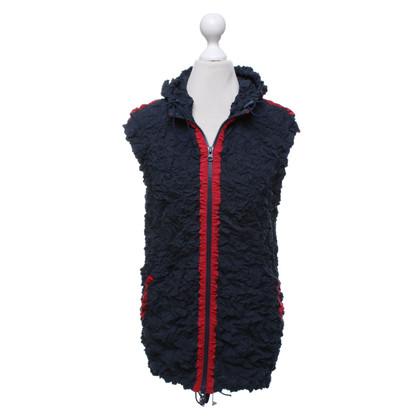 Issey Miyake Vest in blauw