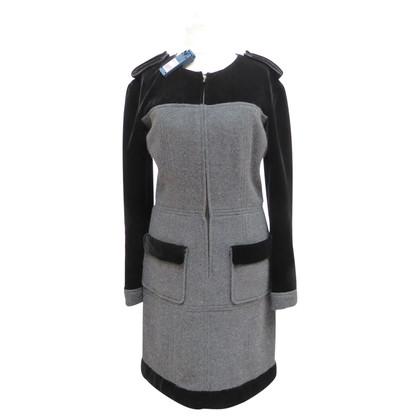 Chanel Jurk cashmere / velvet