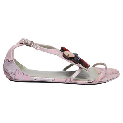 Prada Sandals with decorative stones