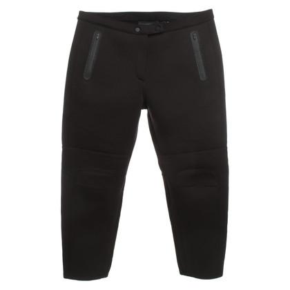 Alexander Wang pantaloni neoprene in nero