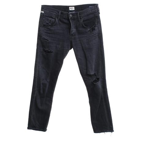 Kaufen Billig Zu Kaufen Hohe Qualität Online Kaufen Citizens of Humanity Jeans in Used-Look Schwarz VheAqKY5X7