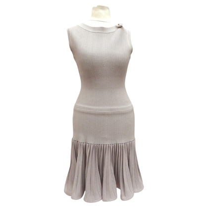 Alaïa Bodyconkleid with far skirt