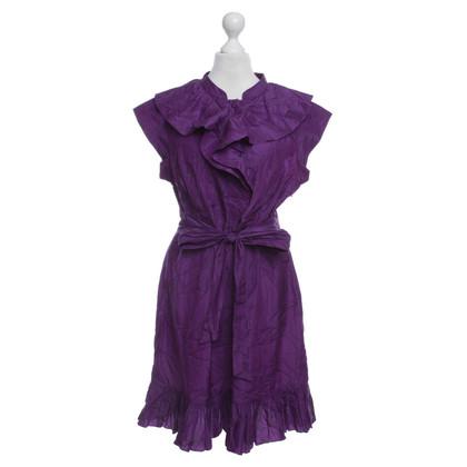 Ted Baker Volant dress in violet