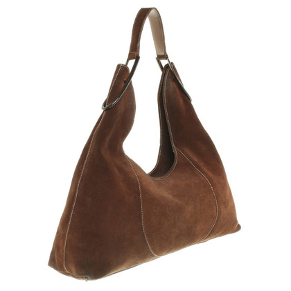 Furla Sac en daim à Brown