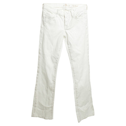 7 For All Mankind Jeans in Weiß