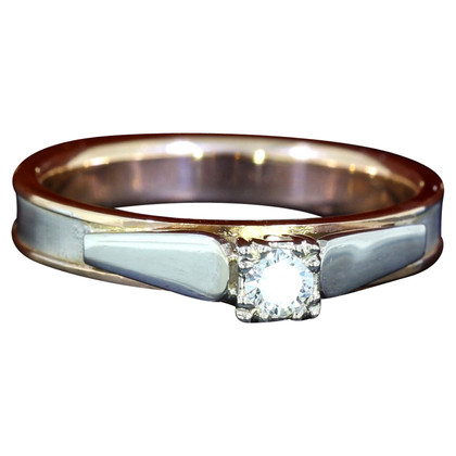 Other Designer Niessing - 585 gold ring with brilliants