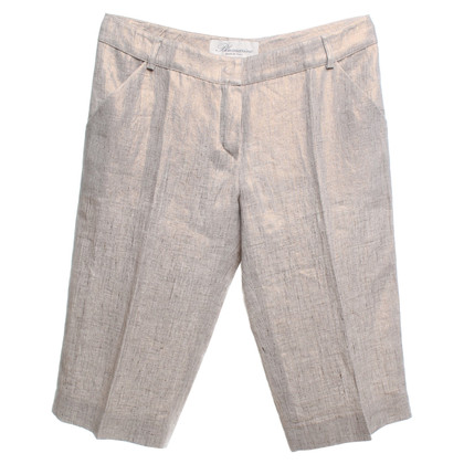 Blumarine Bermuda-Shorts in Natur/Gold