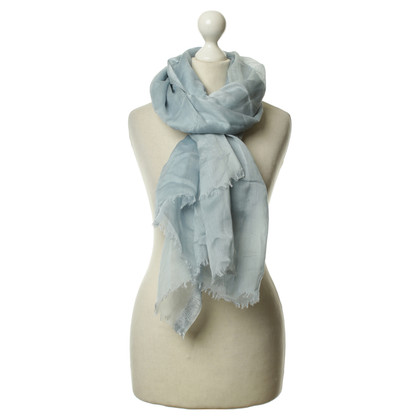 Armani Silk scarf in blue