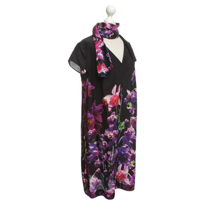 Escada Silk dress with floral print