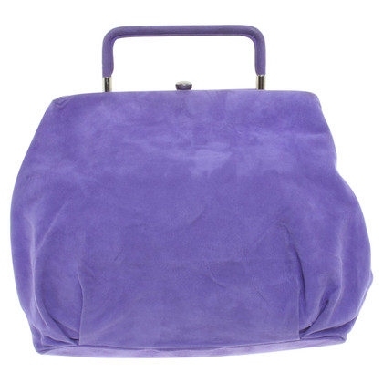 Marni Suede Bag in Purple