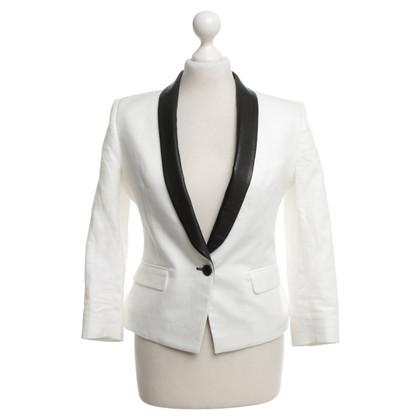 Band of Outsiders Blazer in black and white
