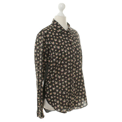 Carven Rose-print blouse