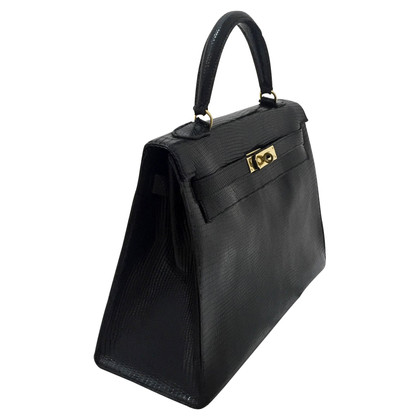 "Hermès ""Kelly Bag 32"" hagedis leder"