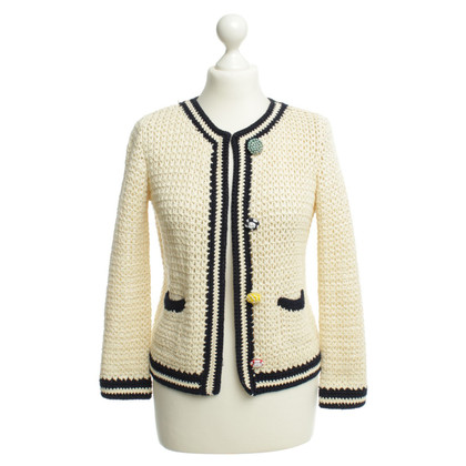 Other Designer Erika Cavallini - crochet Cardigan in off-white