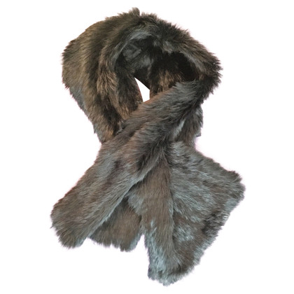 Strenesse Rabbit fur scarf with slot