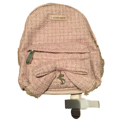 Twin-Set Simona Barbieri Bouclé backpack