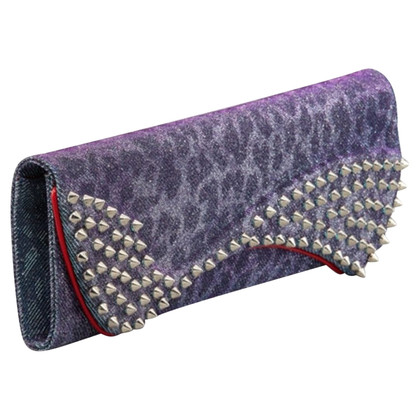"Christian Louboutin ""Pigalle Spikes clutch"""
