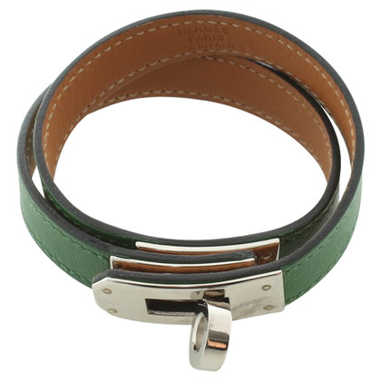 Hermès '' Kelly '' Bracciale in verde