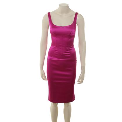 D&G Schede jurk in roze