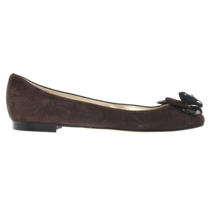 Other Designer Andrea Carrano - Ballerinas made of suede
