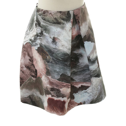 Carven skirt with print motif