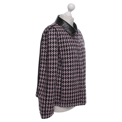 Marc Cain Reversibile Houndstooth giacca