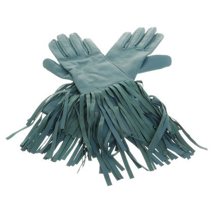 Schumacher Gloves with fringe