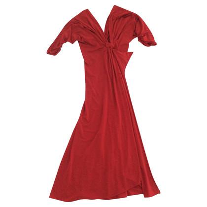 Alberta Ferretti Rode jurk