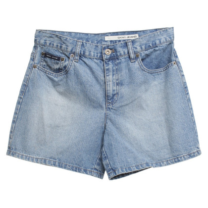 DKNY Denim shorts in blue