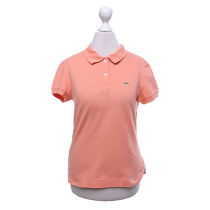 Lacoste Polo shirt in orange