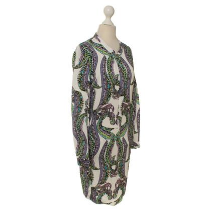 Antik Batik Patroon afgedrukt tuniek jurk