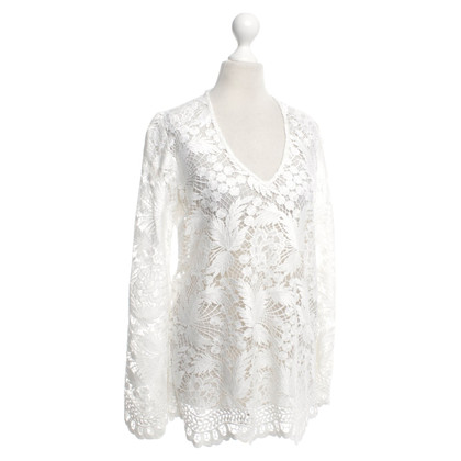 Valerie Khalfon  Lace top in white