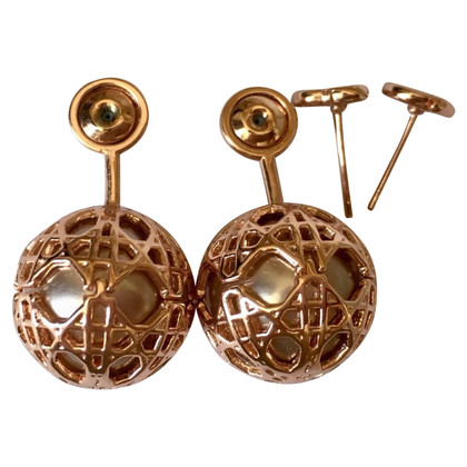 Christian Dior Gold colored earrings