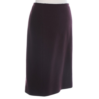 Prada skirt in Bordeaux
