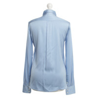 Céline Silk blouse in light blue