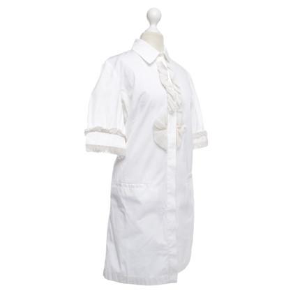 Givenchy Abito camicia in bianco