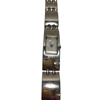DKNY Wristwatch with rhinestone