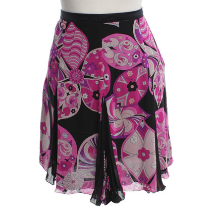 Emilio Pucci skirt with a floral pattern