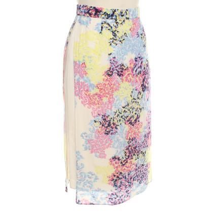Erdem Jupe avec un motif floral