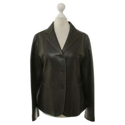 Whistles Blazer leather