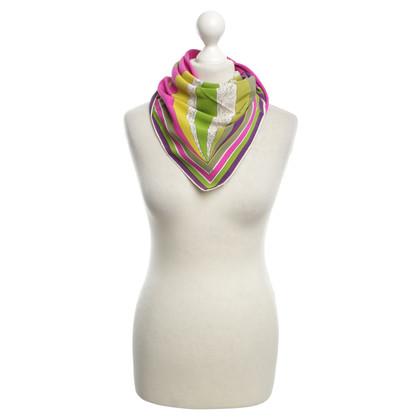 Emilio Pucci Zijden sjaal met motief druk