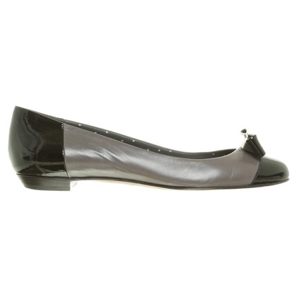 Moschino Cheap and Chic Ballerinas in Grau