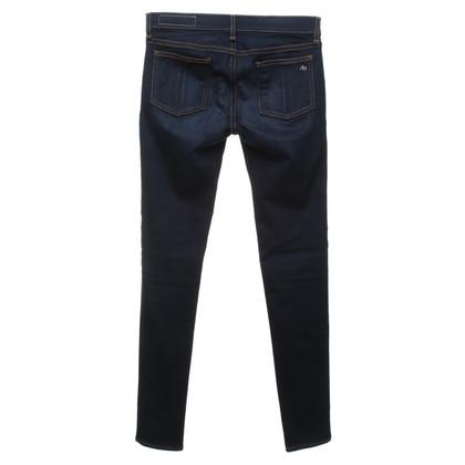 Rag & Bone Jeans in blu scuro
