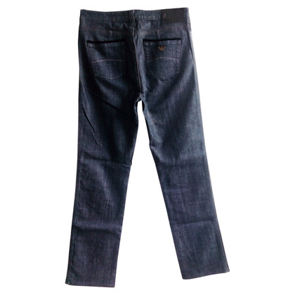 Armani Jeans Blauwe spijkerbroek