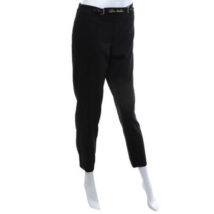 Moschino Love trousers in black